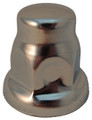 32mm Tall Chrome Nut Cover Flared