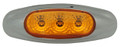 Lucidity 3 Diode Amber LED Marker Light with Amber Lens