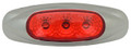 Lucidity 3 Diode Red LED Marker Light with Red Lens