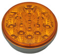 4 inch Round Amber LED Indicator Light with Amber Lens