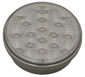 4 inch Round White LED Reverse Light with Clear Lens