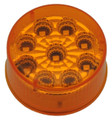 2 inch Round Amber LED Marker Light with Amber Lens