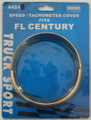 Gold Speedo/Tacho Bezel with Visor. To Suit Freightliner Argosy/Century.