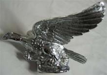 Chrome Flying Eagle Hood Ornament.