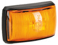 Narva Amber LED Marker Light, with Amber Lens and Black Base. Multivolt 12/24 Volt. 5 Year Warranty. ADR Approved.