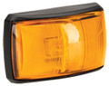Narva Amber LED Side Direction Indicator Light, with Amber Lens and Black Base. Multivolt 12/24 Volt. 5 Year Warranty. ADR Approved.