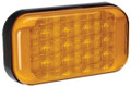Narva Amber LED Indicator Light, with Amber Lens and Black Base. Multivolt 12/24 Volt. 5 Year Warranty. ADR Approved.