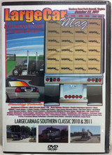 Large Car Mag Southern Classic Truck Show 2010 and 2011 DVD.