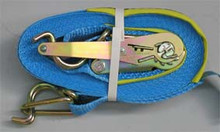 Ratchet and Strap Complete with Hooks.50mm x 9m Strap. Lashing Capacity 2500kg.