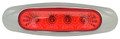 Lucidity 4 Diode Red LED Marker Light with Red Lens