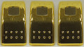Rocker Switch Cover Gold Pack of 3
