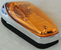 Amber LED Roof Light with Amber Lens