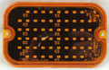 Rectangular Amber Multi-Strobe LED Light