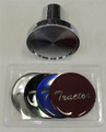 Chrome Tractor Air Valve Knob