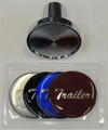 Chrome Trailer Air Valve Knob