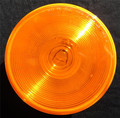 4 inch Round Amber Indicator Sealed Light 12 Volt