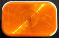 Rectangular Amber Indicator Sealed Light 12 Volt