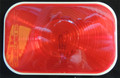 Rectangular Red Stop/Tail Sealed Light 12 Volt