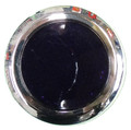 Round Purple Reflector with Chrome Rim - Pair