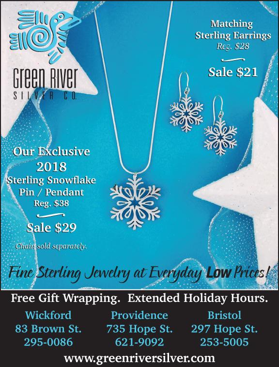 2018 Snowflake Jewelry