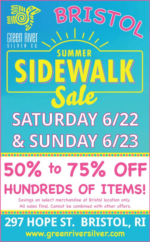 Bristol Sidewalk Sale