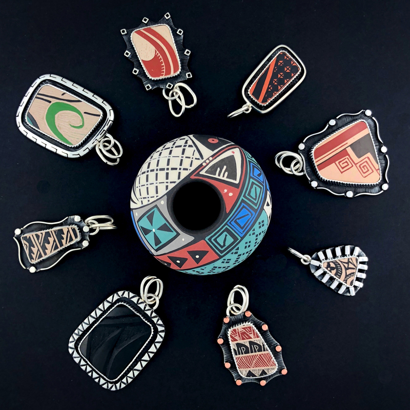 Mata Ortiz Jewelry