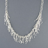 Sterling Silver Garland Necklace