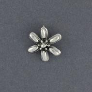 Sterling Silver Mini Daisy Pendant