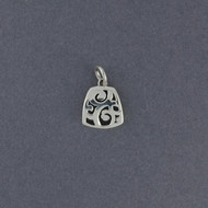 Silver Mini Swirls Pendant