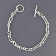 Sterling Silver Tripple Link Bracelet