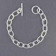 Sterling Silver Classic Oval Link Bracelet