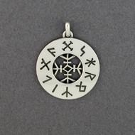 Narragansett Rune Stone Pendant