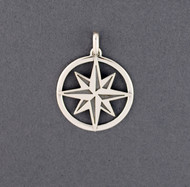 Exclusive Rhode Island Compass Rose Pendant