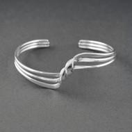 Sterling Silver Tripple Twist Cuff