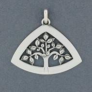 Triangle Tree of Life Pendant