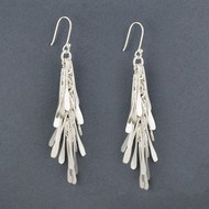 Sterling Silver Rain Earrings