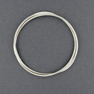 Sterling Silver Dual Bangle