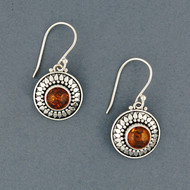 Corrina Amber Earrings