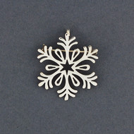 2018 Limited Edition Sterling Silver Snowflake Pin / Pendant