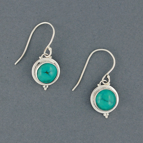 2d82b61a2 Casey Turquoise Earrings - Green River Silver Co.
