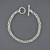 Sterling Silver Small Oval Link