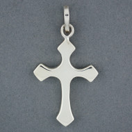 Sterling Silver Stylized Cross