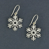 2018 Limited Edition Sterling Silver Snowflake Earring