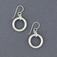 Sterling Silver Mini Bangle Earring