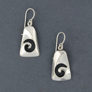 Sterling Silver Cutout Spiral Earring