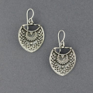 Sterling Silver India Inspired Earrings