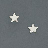 Sterling Silver Star Post Earring