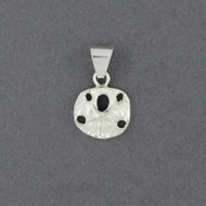 Sterling Silver Mini Sand Dollar Pendant