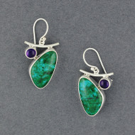 2 Stones Earrings