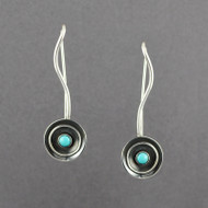 Ethnic Earrings with Turquoise